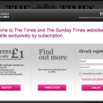 The Times of London and the New York Times try and take more revenue out of subscribers. Is it working?